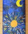 Wunderlampe und Mond