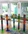 Bunte Säulen für den Garten